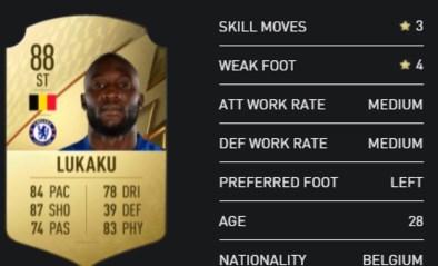 Top-100 van FIFA is bekend: Lukaku zijn rating stijgt, Hazard krijgt serieuze downgrade