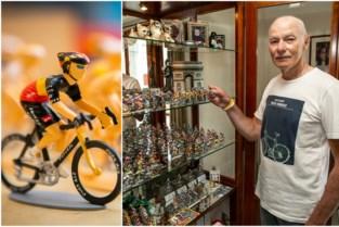 """Martin schilderde al 2.500 miniatuurwielrenners: """"Merckx minstens vijftig keer gemaakt"""""""