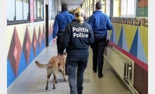 Politie controleert 103 scholieren op drugsbezit