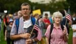 Minder volk dan verwacht op pro-Trump-demonstratie in Washington