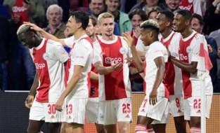 Bijna voor heel de ploeg een goaltje: Ajax houdt schietoefeningen tegen Cambuur met 8 verschillende doelpuntenmakers