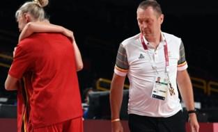 Basketbalbond meldt dat Philip Mestdagh stopt als bondscoach van de Belgian Cats