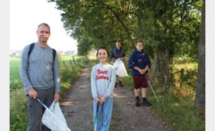 Vrijwilligers Natuurpunt halen 150 kilo zwerfvuil uit Zammelsbroek