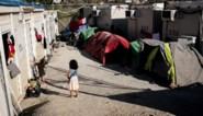 Grote brand in migrantenkamp op Griekse Samos