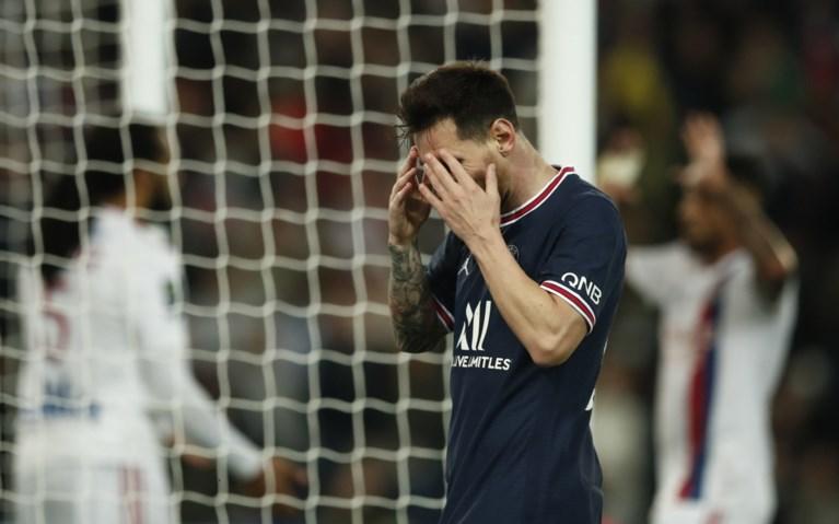 Nu al probleem-Messi? PSG wint in extremis topper tegen Lyon, maar misnoegde Argentijn wordt vroegtijdig gewisseld