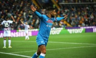 Een goal uit het boekje: Napoli scoort tegen Udinese na héérlijk ingestudeerd nummertje op vrije trap