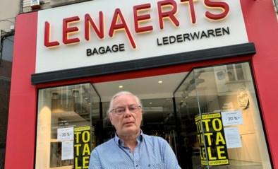 """Lederwaren Lenaerts sluit na 151 jaar de deuren: """"Het is niet de crisis die ons nekte"""""""