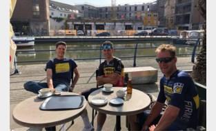 Van Aert, Stuyven en Soete verkennen ook de Leuvense terrasjes in aanloop naar WK