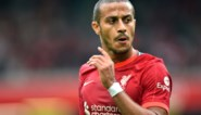 Thiago (Liverpool) staat minstens twee wedstrijden aan de kant