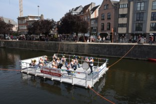 Sint-Cecilia viert 200ste verjaardag met concert op vlot