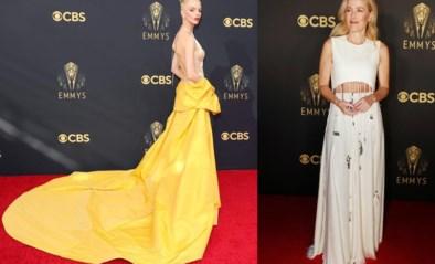 Geel boven: de best geklede sterren op de rode loper van de Emmy's
