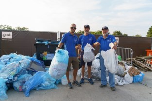 Gentse vrijwilligers ruimen 600 kilo afval op in de stad en in het water