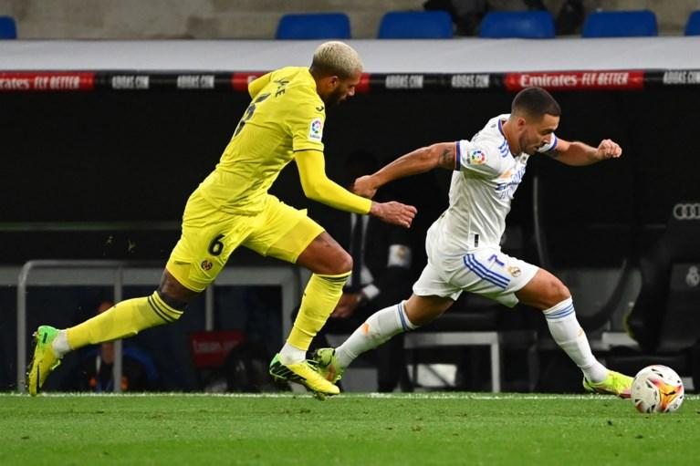 Thibaut Courtois behoedt Real Madrid met enkele indrukwekkende reddingen voor nederlaag, Eden Hazard valt in