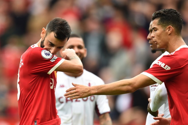 Ook Manchester United verliest voor het eerst: Bruno Fernandes is antiheld met gemiste penalty in blessuretijd