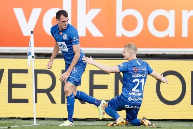 Invaller Lemajic redt Gentse meubelen: matige Buffalo's buigen achterstand na rust om in 2-1- zege tegen Cercle Brugge