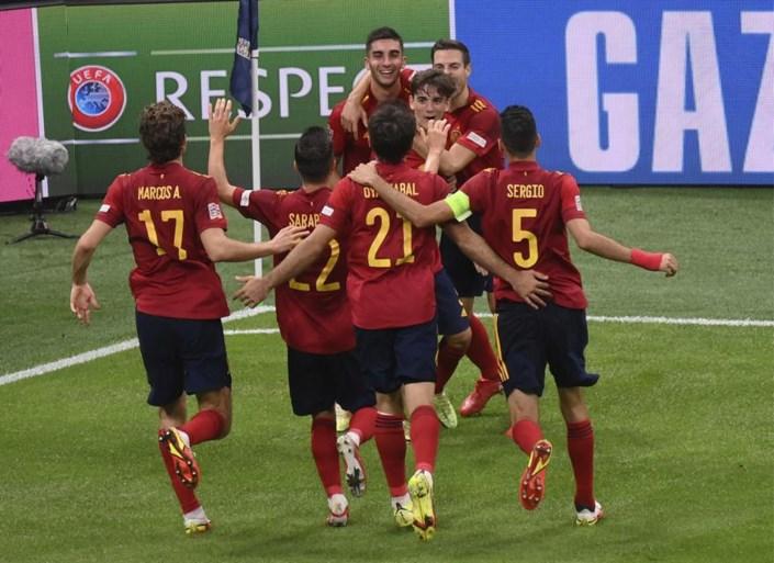 La Spagna vendica l'Italia a Milano e diventa la prima persona a qualificarsi per la finale di Nations League
