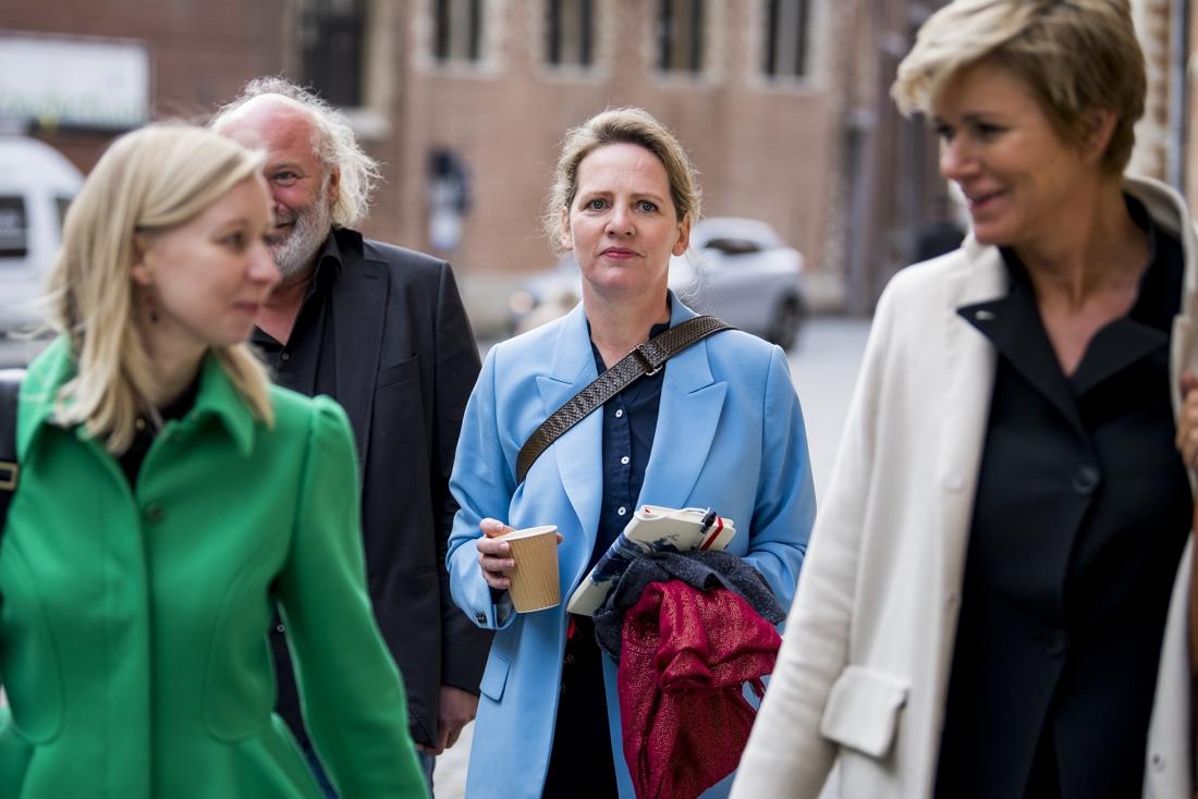 """Actrice Maaike Cafmeyer getuigt zelf op proces-De Pauw: """"Ik was nog niet bij machte om het juiste te zeggen"""""""