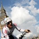 Cancellara in 2007 voor Big Ben.