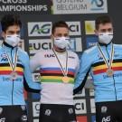Wout van Aert werd dit jaar tweede op het WK veldrijden.